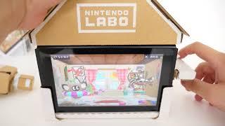 Nintendo Labo「おうちToy-Con」でブロックをいろいろつけて遊んでみた