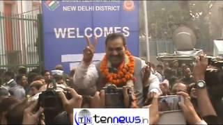 Anil Sharma MLA elect R K Puram BJP says BJP will form Government.