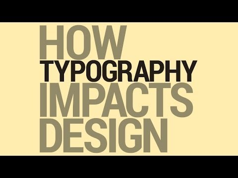 Graphic Design Tutorial: Typography and Design