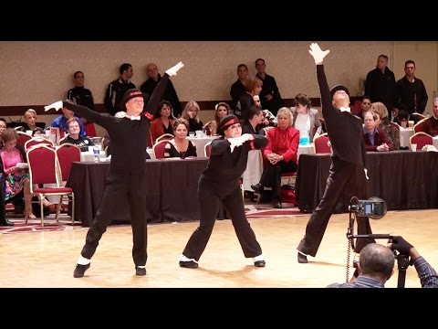2014 Ohio Star Ball - Best of the Best Dancesport Finale - Silver Level Winner HD