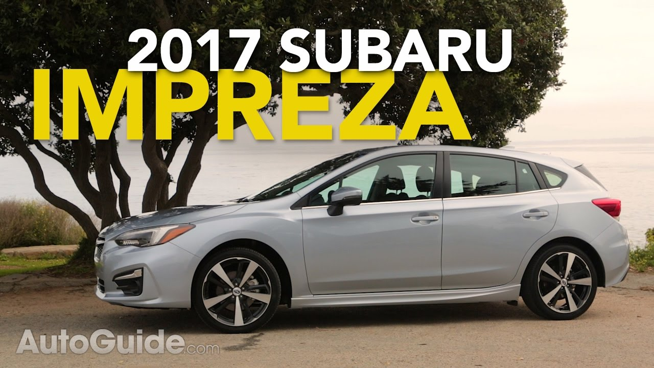2017 subaru impreza reviews