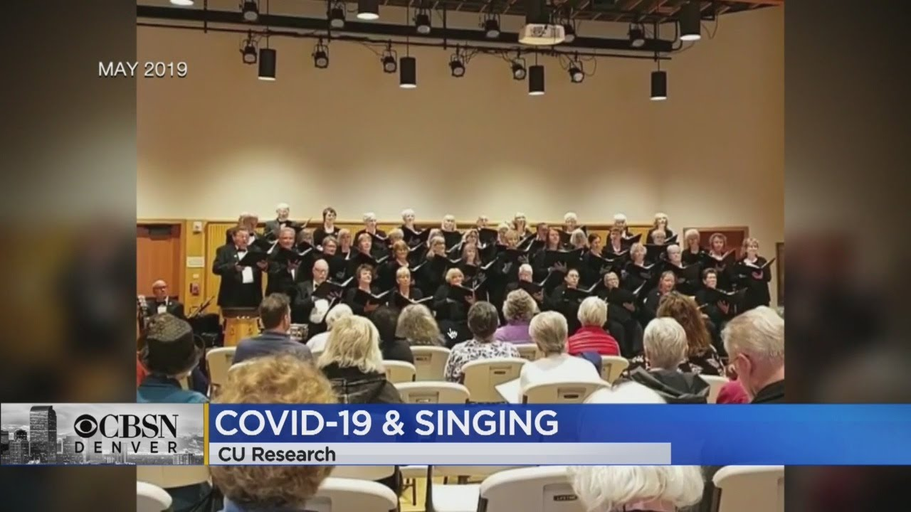 CU Study Confirms Singing Unmasked Inside Spreads COVID Through Particles - CBS Denver