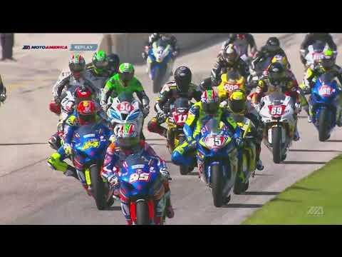 FULL RACE : Motul Superbike Race 1 from Road America