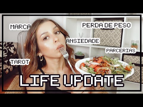LIFE UPDATE: ANSIEDADE TAROT PARCERIAS E PERDA DE PESO *tentei fazer mukbang*   Inês Rochinha
