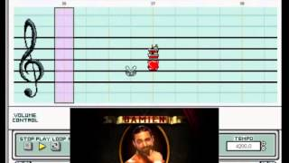 "Mario Paint - ""Hallelujah (Rock Mix)"" (Damien Sandow WWE Theme)"