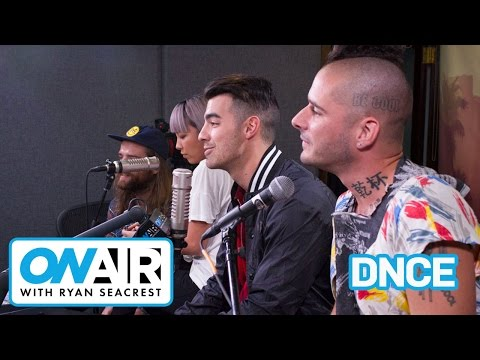 DNCE Previews Debut Album | On Air with Ryan Seacrest