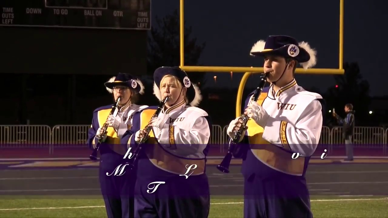 WIU Marching Leathernecks - All I Need For Christmas Is You