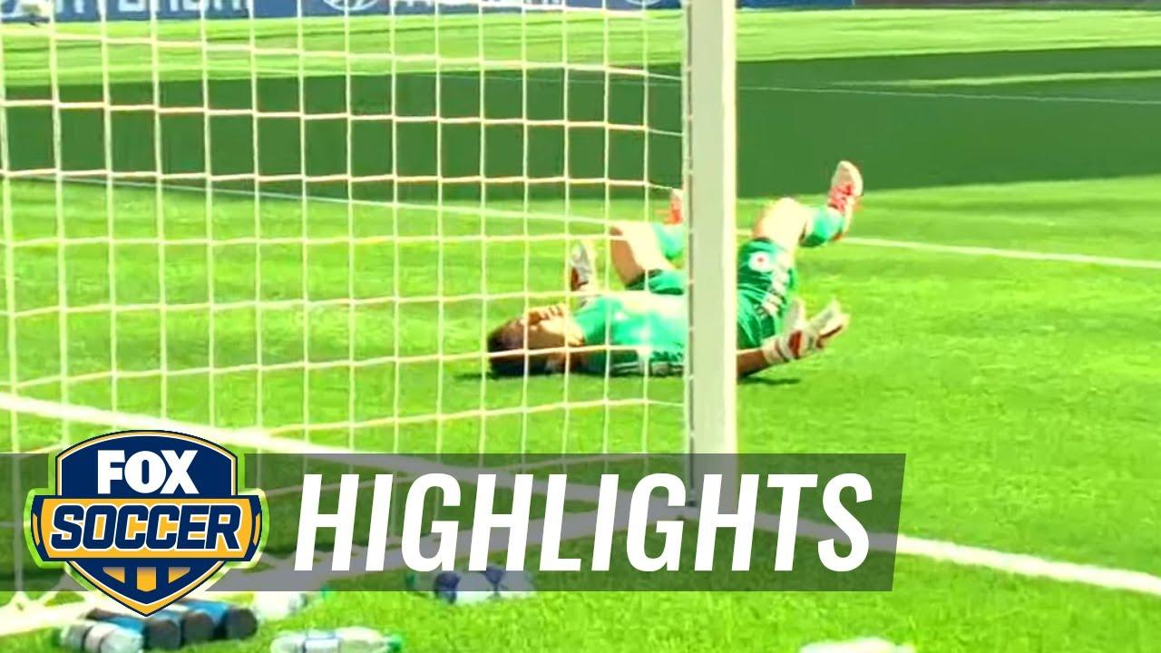 Carli Lloyd s half field strike seals hat-trick - FIFA Women s World Cup  2015 Highlights. FOX Soccer a2ccaaa43