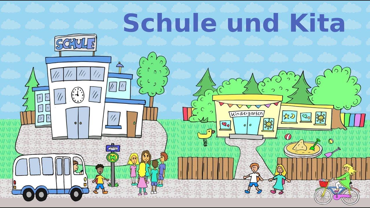 526714a54dd90 Deutsch lernen  Schule und Kita - Schüler   Lehrer   Eltern   Erzieher -  learn German  school