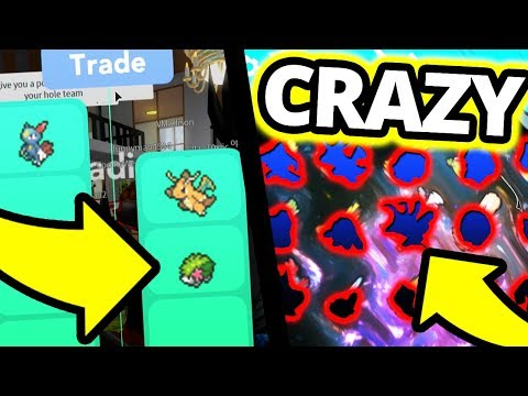 What Happens If I Accept Every Trade in Pokemon Brick Bronze?