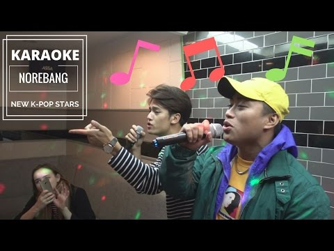 NEW KPOP STARS AT A KOREAN KARAOKE [NOREBANG] ft. Korean Bros | Korea Vlog 4
