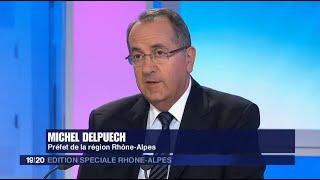 Michel Delpuech, préfet de Région Rhône-Alpes, invité du 19/20 Rhône-Alpes