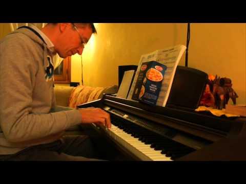 Pianoforte Pubblicità Barilla Con Spartito Youtube