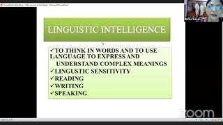 Multiple Intelligence And Phonics