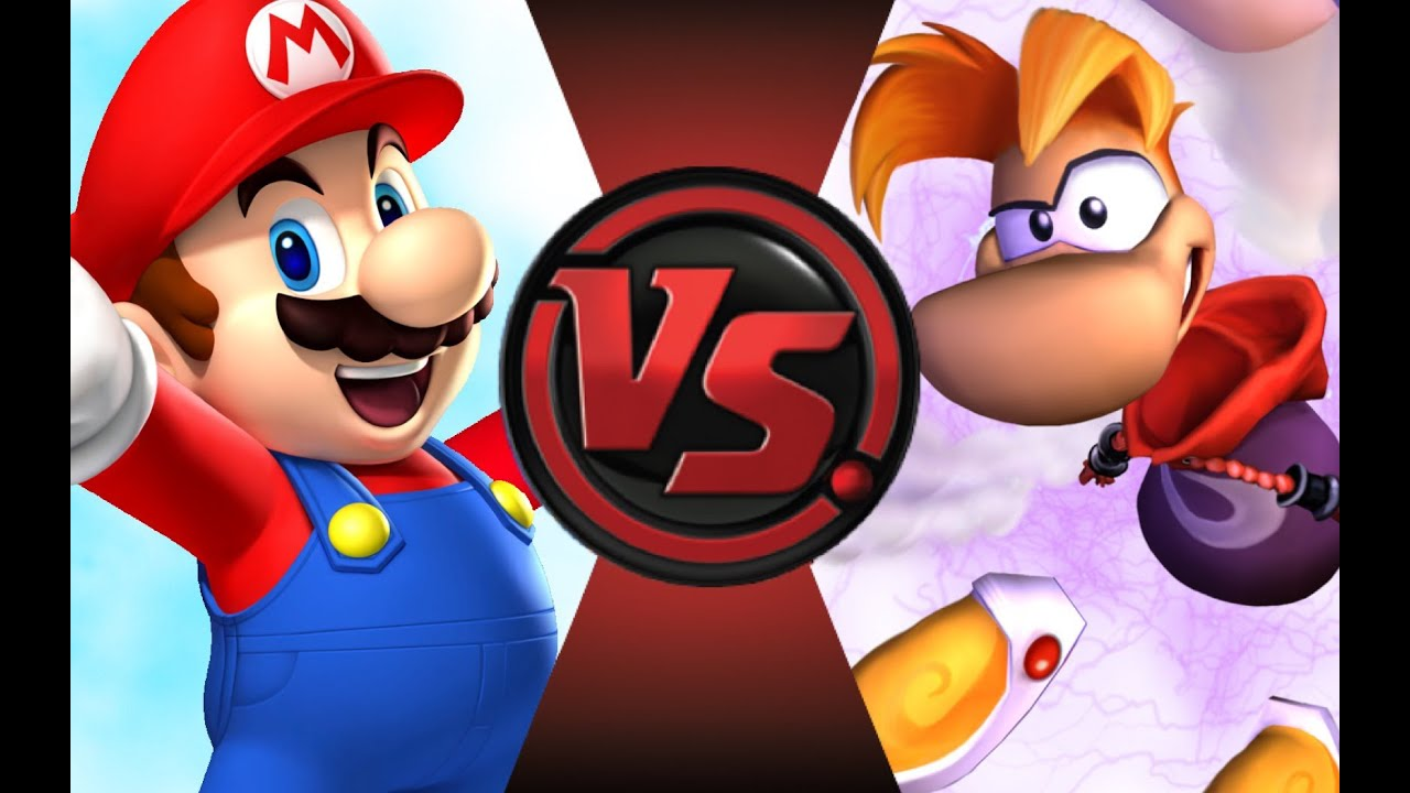 Mario Vs Rayman Cartoon Fight Club Episode 64 Youtube