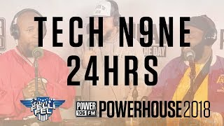"""Tech N9ne and 24Hrs Check in at Powerhouse and Say They See """"Booties Everywhere"""""""