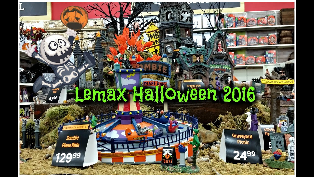 lemax spooky town at michaels halloween 2016 - Halloween Michaels