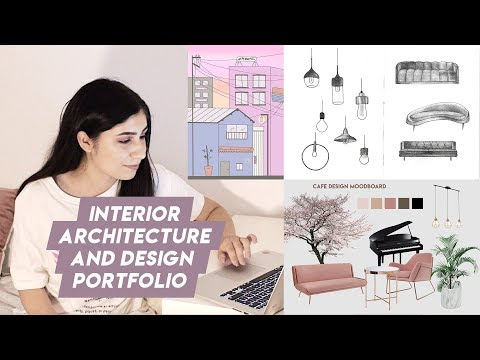 Interior Architecture And Design Portfolio UK (accepted!)