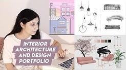 Interior Architecture and Design Portfolio UK (accepted!)
