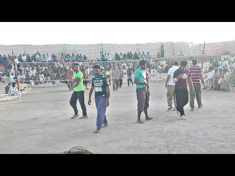 Shooting volleyball King Akhtar baloch vs Faisal bhatti defence - Latast volleyball match