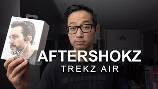Aftershokz Trekz Air Bone Conduction Headphones - First Impressions