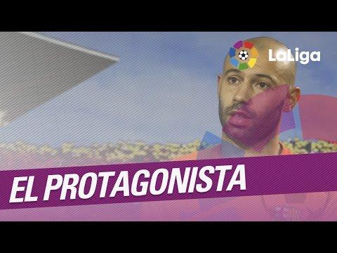 El Protagonista: Javier Mascherano, jugador del FC Barcelona