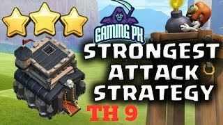 TH 9 best attack stretegys in COC | Clash of Clans | Gaming PK