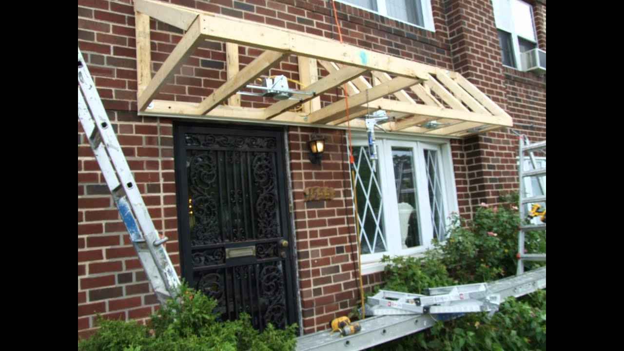 Pent Roof Over Door Slideshow - YouTube
