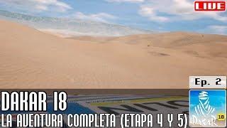 Dakar 18 || #2: La aventura completa: dunas peruanas (etapas 4-5) || LIVE