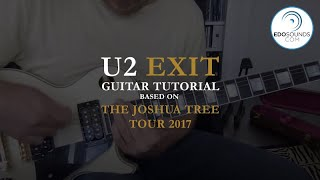 Edosounds - U2 EXIT guitar cover (and tutorial)