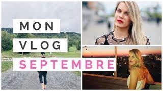 VLOG SEPTEMBRE: Ma Job, Soirée YouTube et Voyage à Toronto
