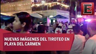 Difunden nuevo video sobre tiroteo en Playa del Carmen