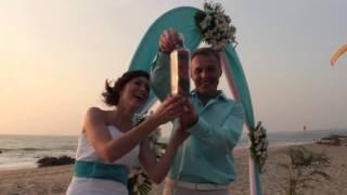 Свадебная церемония в ГОА 2014