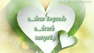 Ithu nee irukkum nenjamadi status video | enna aanalum ennam marathe | tamil what's app status