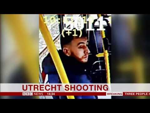 Dutch police release picture of suspect Gökmen Tanis after terror attack on tram in Netherlands