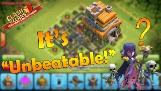"Clash of Clans - ""NEW UPDATE"" Best TownHall 7 Farming Base ""Unbeatable"" - 2016"