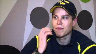 Swedish goalie Viktor Fasth lives the dream