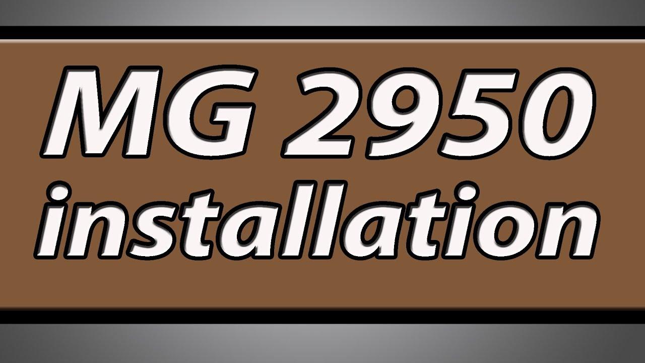 IMPRIMANTE MG2950 LOGICIEL GRATUITEMENT CANON TÉLÉCHARGER