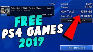 *WORKING FEBRUARY 2019* FREE PS4 GAMES GLITCH! How To Get Any PS4 Game FREE