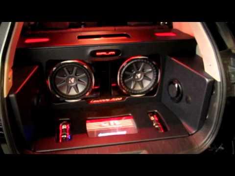 Gmc Terrain Denali >> 2011 GMC Terrain - Custom Audio System - YouTube
