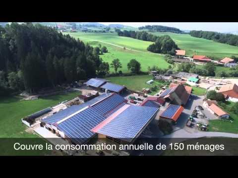 SCDI Solar SA : Centrale solaire de 3600 m2 - Suisse