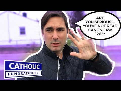 "Canon Law 1262 - ""GIVE ME YOUR MONEY"" - 