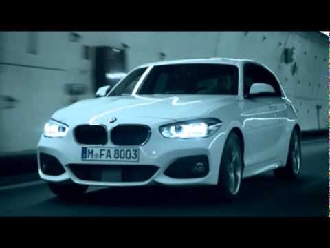 bmw 1er 2015 m sport modell mit facelift im video youtube. Black Bedroom Furniture Sets. Home Design Ideas
