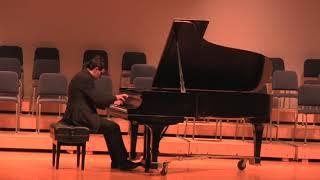 Chopin - Sonata no. 1 in C minor, op. 4 (II. Menuetto)