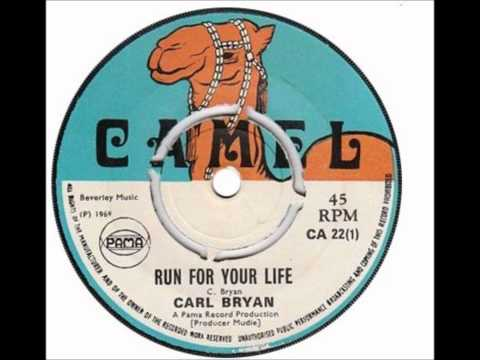 carl bryan - run for your life