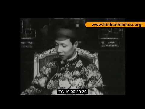 Phim tài liệu: Lễ mừng thọ 40 tuổi (Tứ Tuần Đại Khánh) của vua Khải Ðịnh