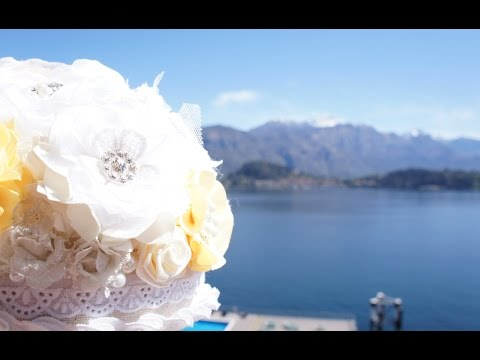 Rob and Lolly's Wedding, Lake Como Italy