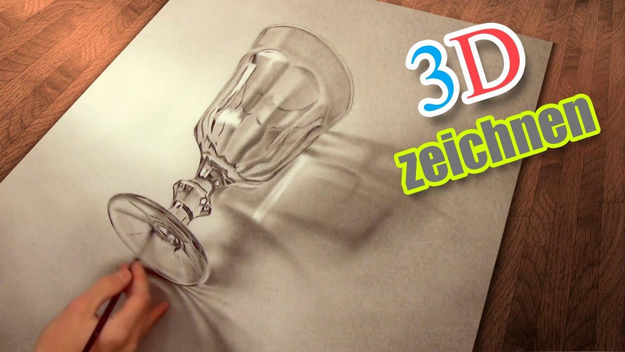 Super Malen Und Zeichnen Realistisch In 3D / Illusionsmalerei   YouTube GL41