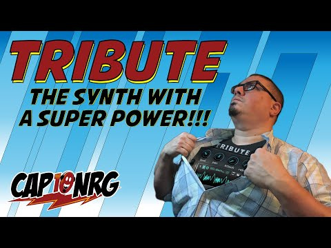 Tribute Rack Extension: The Synth with a Super Power