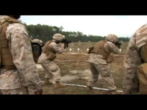 Marines with 2nd Marine Logistics Group sharpens combat shooting skills